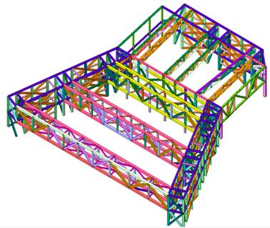 太空帆船——南京青奥会议中心复杂结构体系分析及
