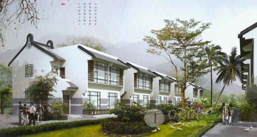 广东新农村五种类型住宅设计图撷英 编辑:简侠宇