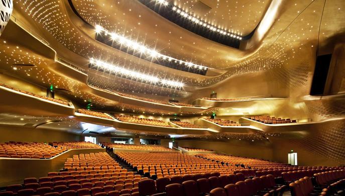 国外歌剧院雕塑
