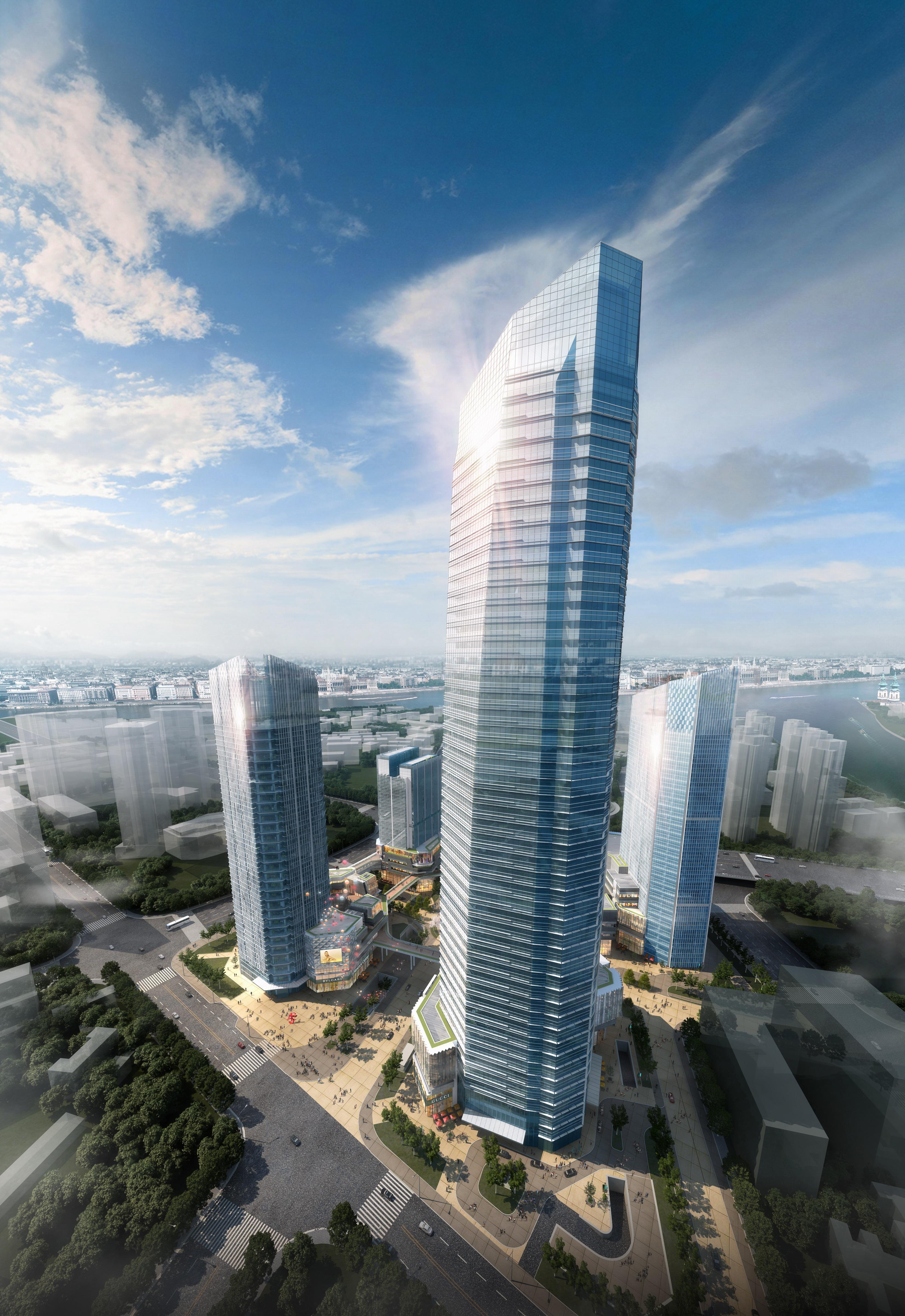钢结构建筑概念图